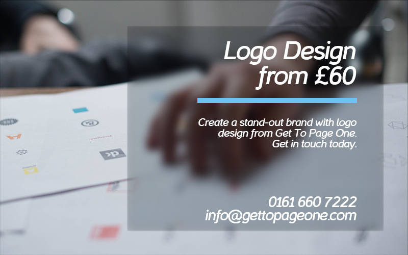 Logo design services - get to page one ltd