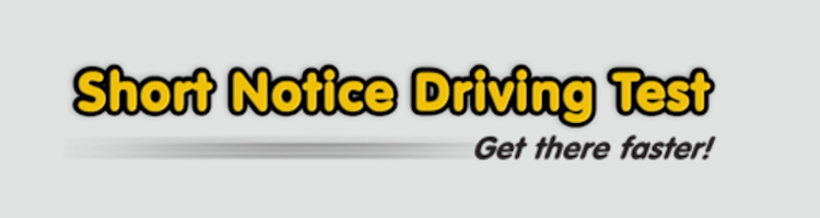 Short Notice Driving Test